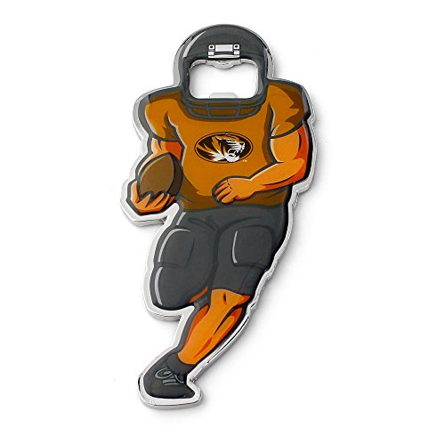 NCAA Missouri Tigers Player Bottle Opener Magnet ()