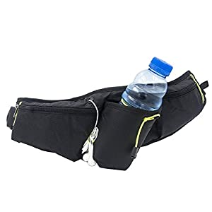 Fitackle Hydration Running Belt Water Bottle Holder Hiking Waist Pack for iPhone 6/6S 7/7 Plus Galaxy S6 S7 S8
