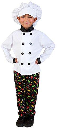 Child Prep Chef Costume (Medium 7-10)
