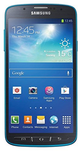Samsung Galaxy S4 Active I537 Unlocked GSM 4G LTE Android Smartphone with 13MP Camera - Dive Blue - AT&T - No Warranty (Samsung Infuse Cell Phone)