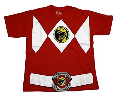 Power Rangers ranger costume adult t-shirt