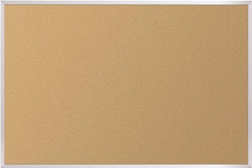 BestRite 4 x 10 Feet Valu-Tak Tackboard Aluminum Trim - Board Bulletin Trim Aluminum