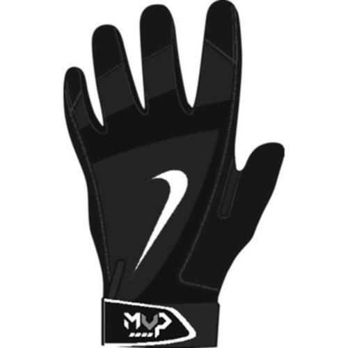 Nike Batting Gloves Orange: Nike Youth MVP Edge Baseball Batting Glove Black/Pewter