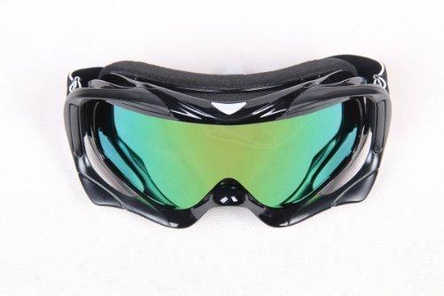 Black Adult Motocross Motorcycle ATV Dirt Bike Off-Road Goggles Eyewear by - Eyewear Bike