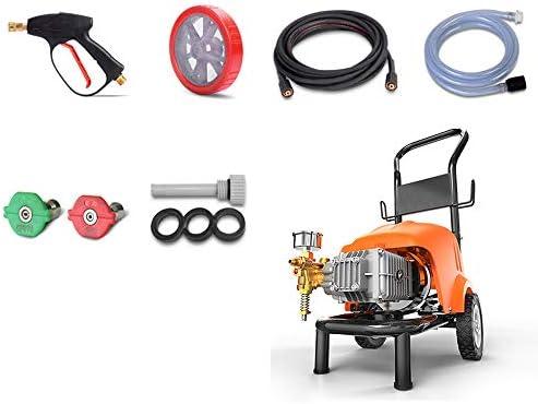 HXPH Lavadora de Coches de Alta presión 1600 W Lavadora automática ...