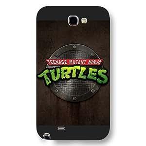 UniqueBox Customized Black Frosted Samsung Galaxy Note 2 Case, Teenage Mutant Ninja Turtles(TMNT) Samsung Note 2 case WANGJING JINDA