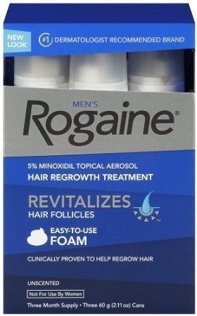 Rogaine Regrowth Treatment Minoxidil Packaging
