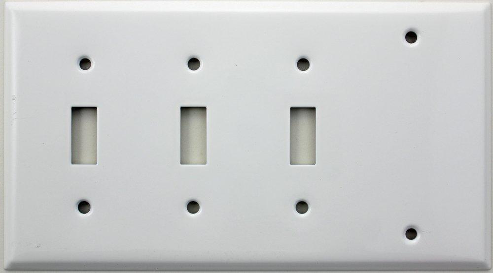 欲しいの Smoothホワイト4つギャング壁プレート B00GCG1ENS – 3つ切り替えスイッチ1つ空白 – B00GCG1ENS, クマイシチョウ:6ec40b99 --- svecha37.ru