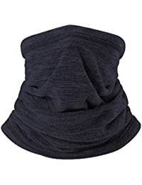 Neck Gaiter, Outdoor Multifunctional Headwear - Magic Scarf, Face Mask, Do Rag, Winter Cap, Pirate Hat