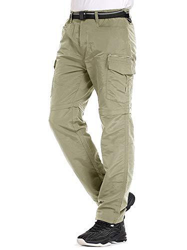 Mens Hiking Pants Convertible