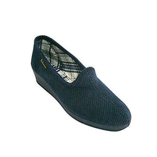 Velluto Cuneo Navy Slipper Salemera Classic Blu raCqwr