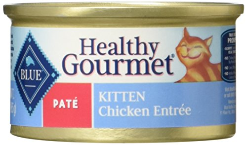 Blue Healthy Gourmet Kitten Pate Chicken Multipack Wet Cat F