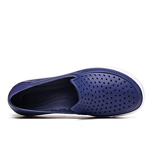 Pool On Casual D Waterproof M Water 10 EnllerviiD Summer US LTT3102shenlan44 Blue Men Garden Beach Shoes Dark Slip Shoes tWvF8q