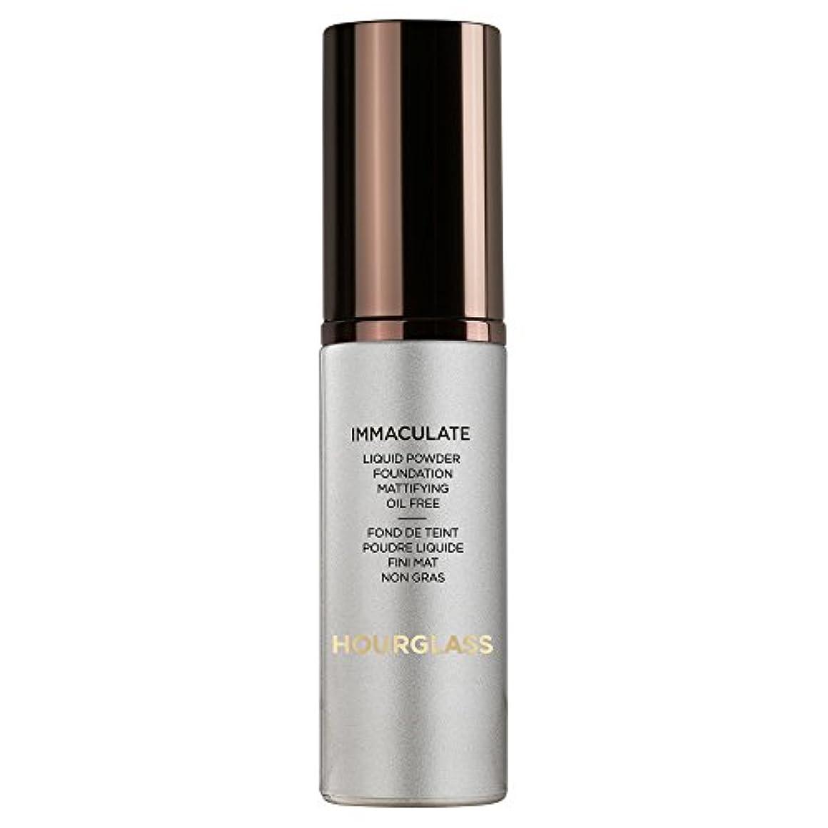 古代つかまえる楕円形砂時計真っ白な液体パウダーファンデーションバニラ (Hourglass) (x2) - Hourglass Immaculate Liquid Powder Foundation Vanilla (Pack of 2) [並行輸入品]