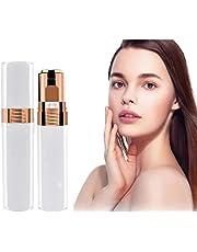 Depilación Facial, removedor de Vello Facial para Mujer Cortadora de Vello Facial eléctrica a Prueba de Agua para Damas afeitadora de Vello Facial Femenina sin Dolor