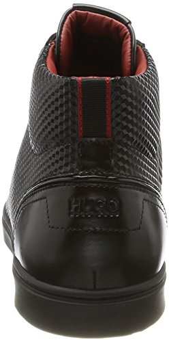 Sneaker a Uomo Collo Post Alto Nero Hugo Black ltem hito AqxZSwIt