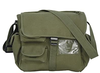 Amazon.com: Urban Explorer Canvas Shoulder Bag: Sports & Outdoors