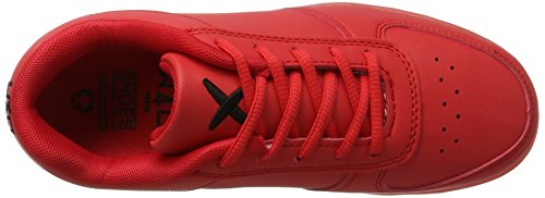 Led Unisex amp; low Sneaker Ope adulto Rosso 03 red Wize wq6ETXpxE