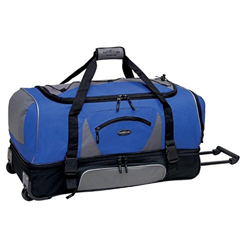 adventurer-duffel-collection-36-2-section-drop-bottom-rolling-duffel-in-navy-and-black