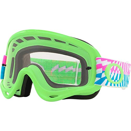 Oakley O Frame MX Adult Off-Road Motorcycle Goggles - Braking Bumps Pink ()