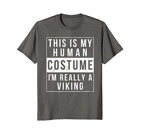 Viking Halloween Costume TShirt Easy Funny Kids Adult