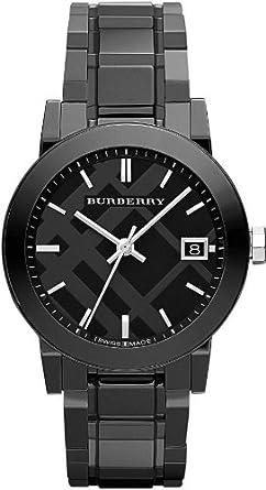 burberry all black watch