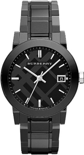 Burberry Black Ceramic Women's Watch BU9181