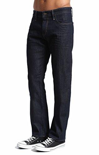 Mavi Men's Zach Regular-Rise Straight-Leg Jeans, Rinse Williamsburg, 35W X 32L