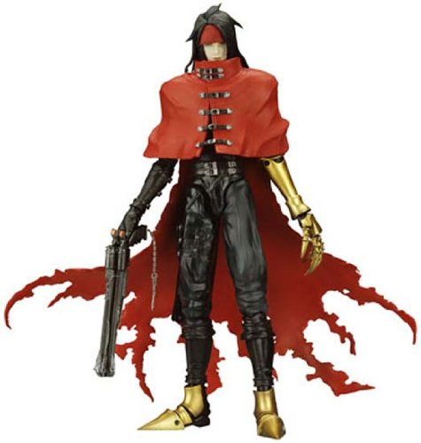 FINAL FANTASY 7 ADVENT CHILDREN PLAY ARTS ACTION FIGURE VINCENT VALENTINE
