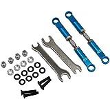 Hot Racing ECT5406 Aluminum 72mm Front Turnbuckles (Blue) - ECX 2wd