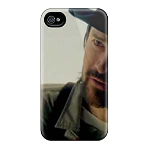 Shock-Absorbing Hard Phone Cover For Iphone 4/4s (Mdf11960UNrw) Unique Design High Resolution Breaking Benjamin Series