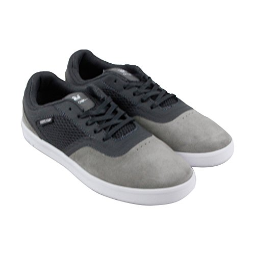 Suede white Mens Mesh Saint Skate Dk Shoes Lace Up Sneakers Grey Grey Supra Gray SgwaxtOq