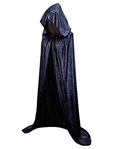 Hamour Unisex Halloween Cape Full Length Hooded Cloak Adult Costume (59