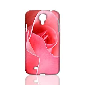 Pink Rose 3D Rough Case Skin, fashion design image custom, durable hard 3D case cover, Case New Design for Samsung Galaxy S4 I9500 , By Codystore