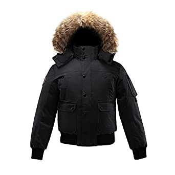 Triple F.A.T. Goose Grinnell Mens Goose Down Jacket Parka with ...