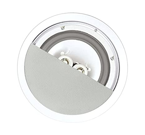 OSD Audio ICE600TTWRS Weatherproof Dual Voice Coil In-Ceiling Speaker