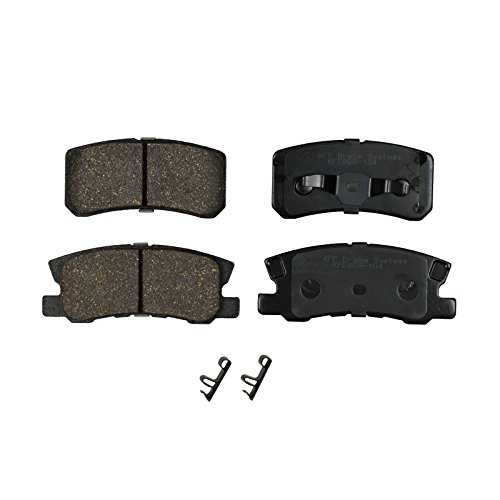 - KFE Ultra Quiet Advanced Premium Ceramic REAR Brake Pad Set KFE868-104