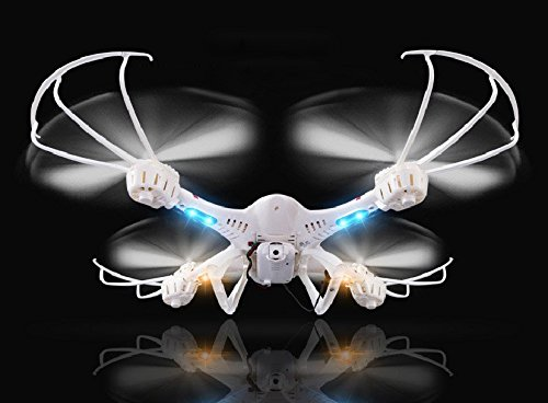 DBPOWER MJX X400W FPV Drone with Wifi Camera Live Video Headless Mode 2.4GHz