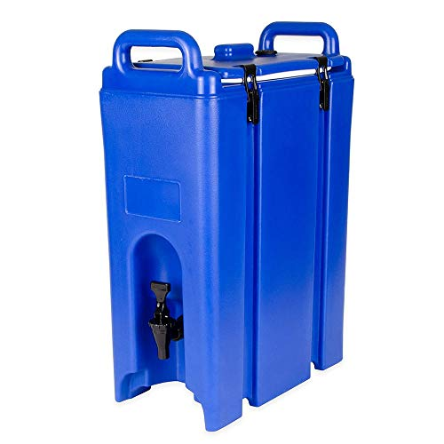 Cambro 500LCD186 5-gal Camtainer Beverage Carrier - Insulated, Navy ()