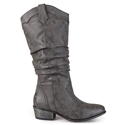 Brinley Co Women's Drover Western Boot,black,7 Regular US -