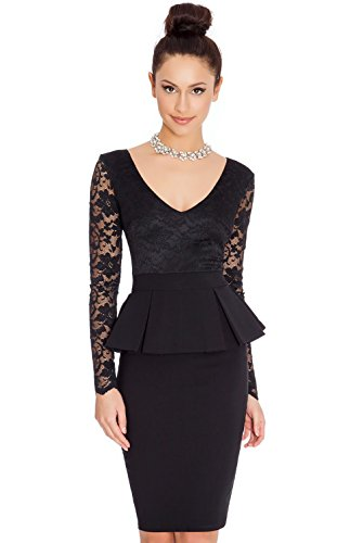 Jollychic - Vestido - Estuche - para mujer negro