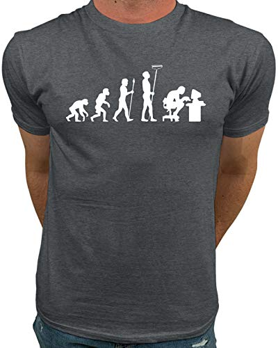 b7e2ebb7f Market Trendz Evolution of Man | Monkey to Computer Programmer Funny t  Shirts for Men X