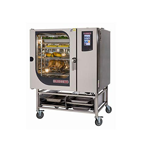 Blodgett BCT101E Single Electric Boiler based Combination-Oven and Steamer with Touchscreen Control Multiple modes Self cleaning system Stainless Steel Exterior and Interior with Stand.