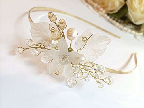 FloweRainboW wedding headband bridal tiara crown
