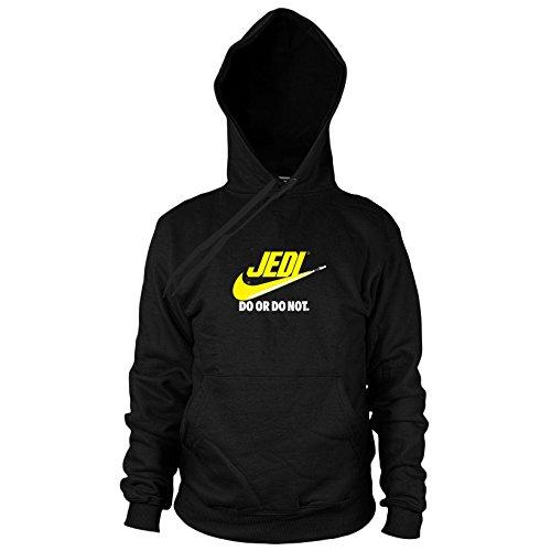 Jedi Do It - Herren Hooded Sweater, Größe: L, Farbe: schwarz