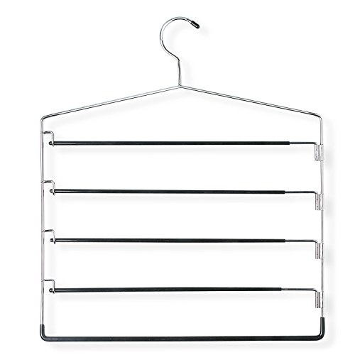 Honey Can Do HNG 01202 Swinging 5 Tier Chrome