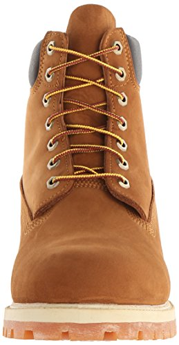 homme 6in Brown premium Timberland Boots Rust Orange boot qfSIxwnF