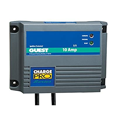 Guest On-Board Battery Charger 10A / 12V; 1 Bank; 120V Input - Bulk