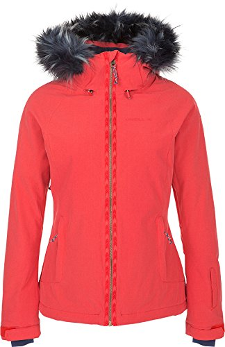 - O'Neill Women's Curve Jacket, Hibiscus Red, Medium