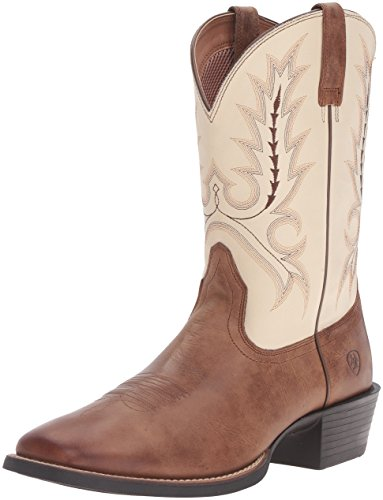 Ariat Mens Sport Outfitter Western Cowboy Boot Burro Marrone